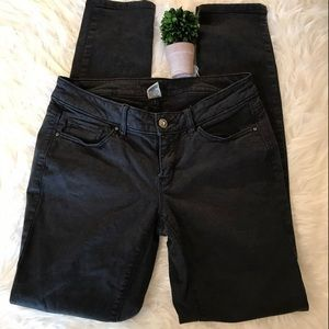 Cache Sz 4 Black Denim Skinny Jeans